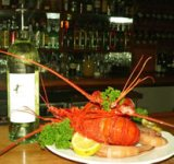 get a meal at the Ghostship bar and grill