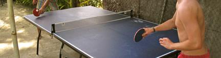 table tennis at aquarius