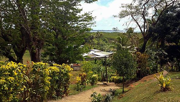 View to Vewa Island