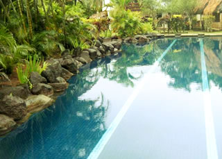 swimming pool at club coral coast