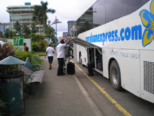express bus leaving from suva