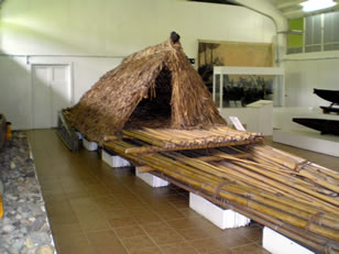 sailing craftFiji museum exhibit
