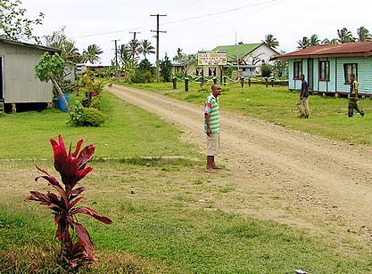 Typical Fijian Village