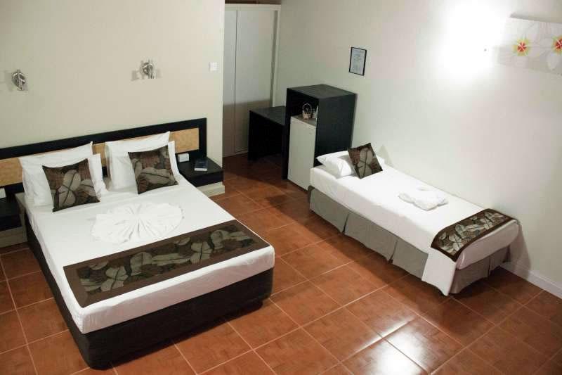 Bedroom in standard studio unit