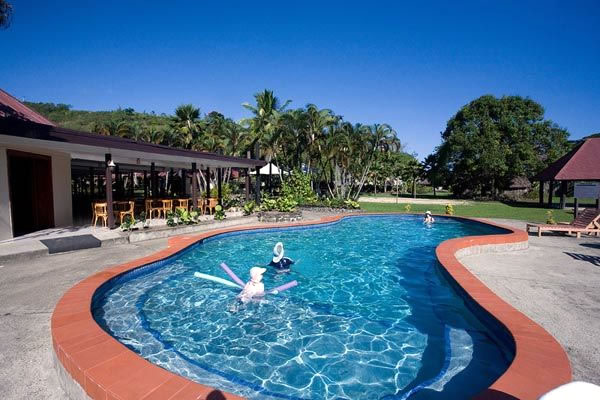 The pool at Geckos