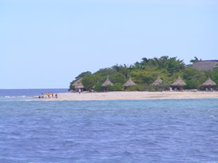 One of the Mamanuca islands