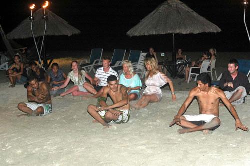 Evening fun at Smugglers