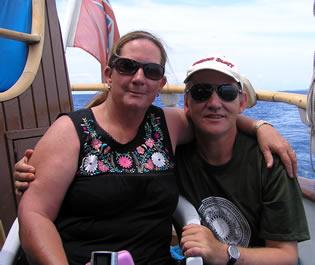 On Board The Whales Tale Schooner