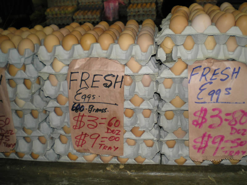 Expected the eggs to be cheaper than this