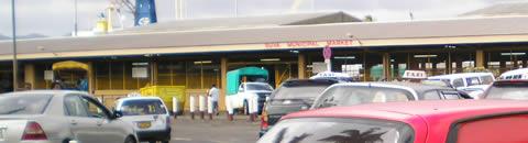 View of the Suva Municipal market
