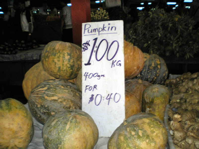 Pumpkins, reasonably priced