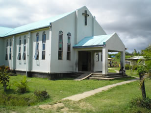 local fijian church