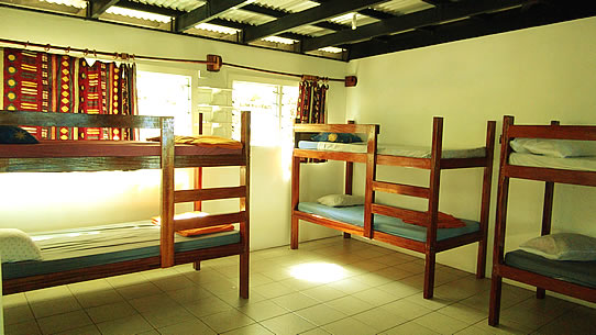 Fiji backpacker dorm