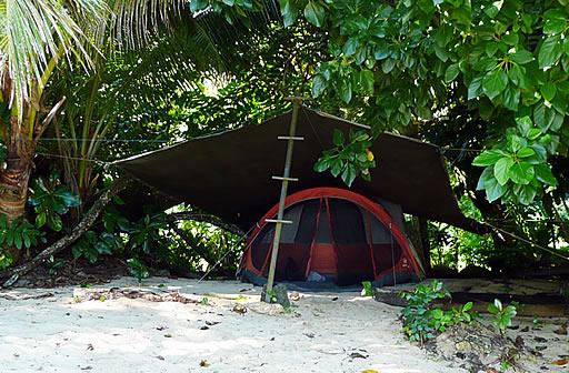 Camping Fiji