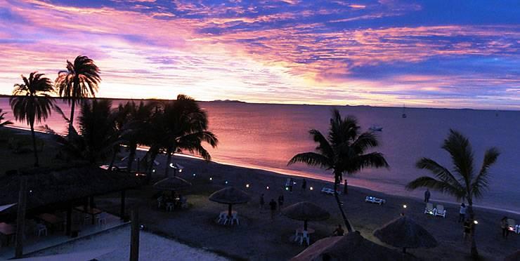 Sunset At Smugglers Cove