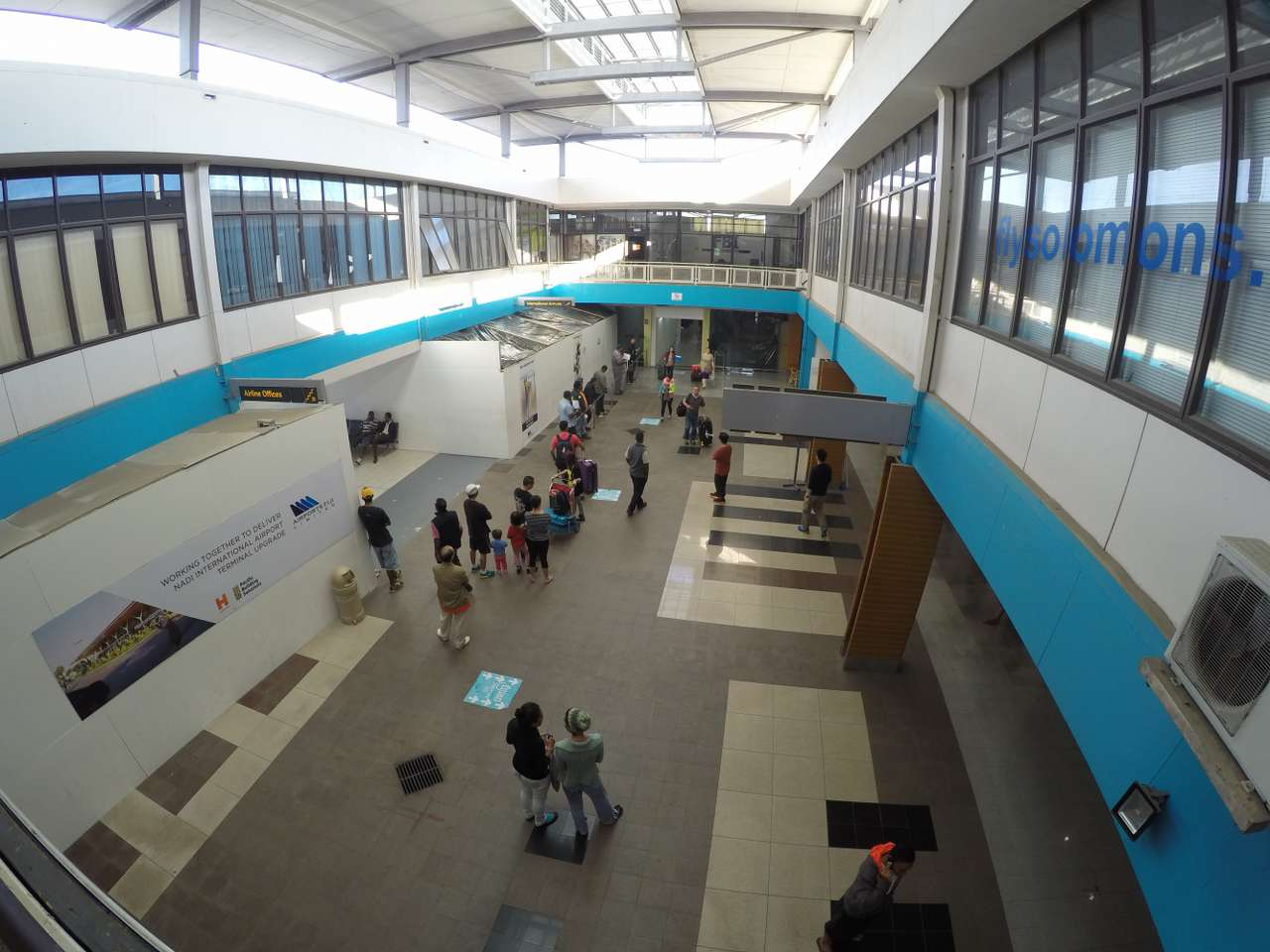 Welcome to Nadi Airport, Fiji