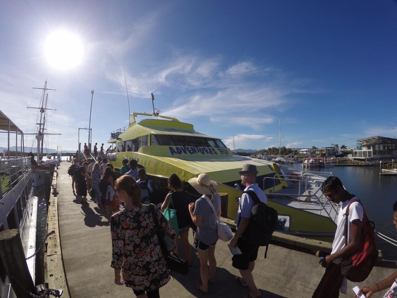 Yasawa Flyer - Boat transport to the Mamanuca and Yasawa Islands