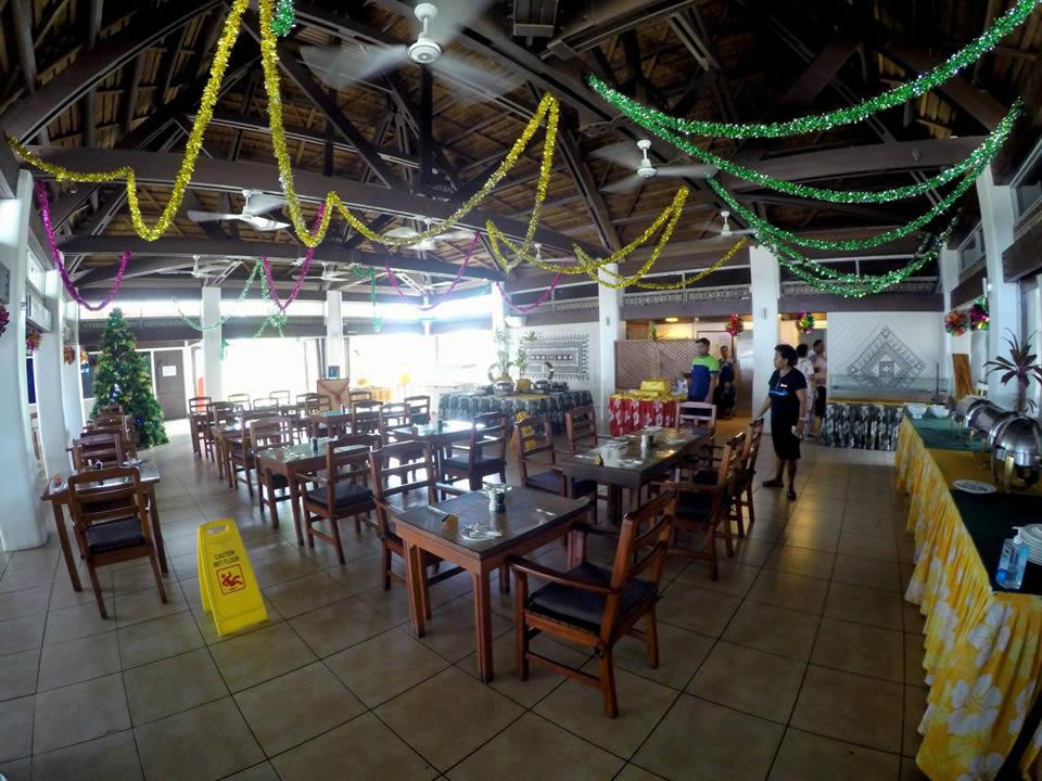 Dining room at Treasure Island