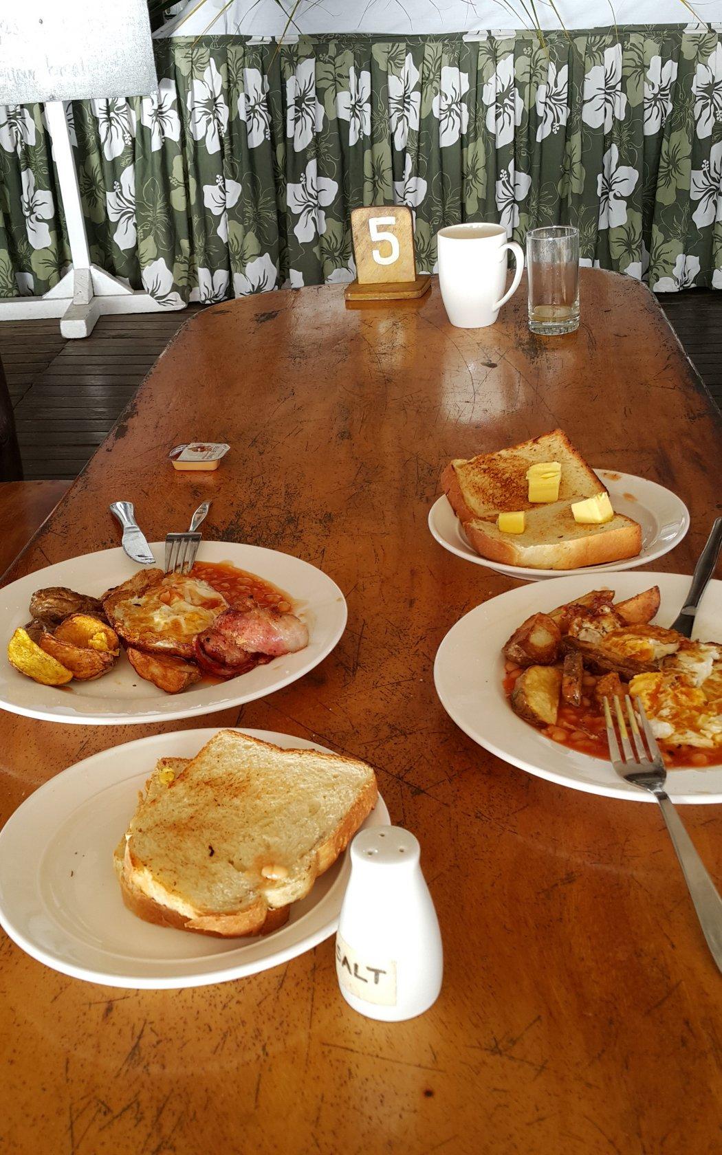 Bounty Island Resort Meal Plan