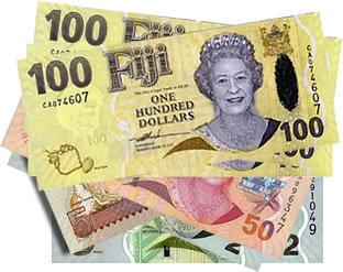 Fijian Bills From 2 To 100